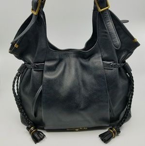Elliott Lucca Black Sintra Tote - Leather